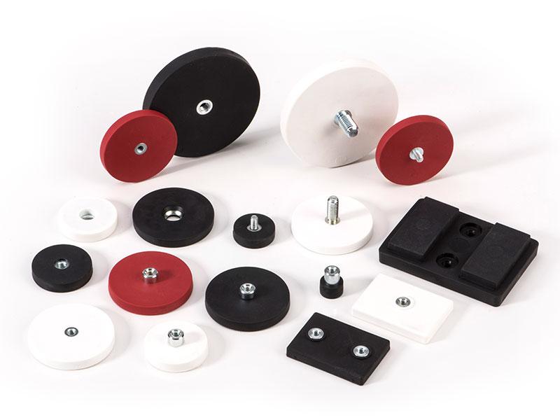 GraviFlex® Magnetsysteme mit Gummiummantelung