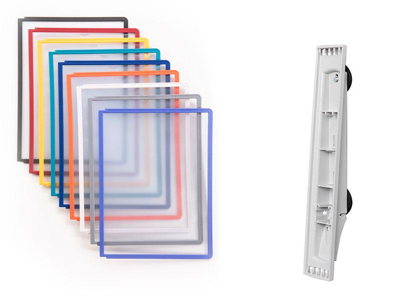 SHERPA® Sichttafeln und magnetische Wandhalter