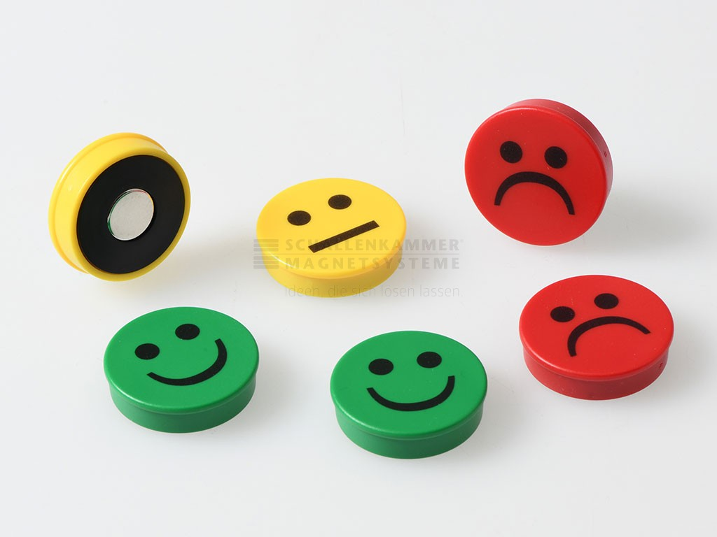 Smiley, D: 30 mm, H: 7,5 mm