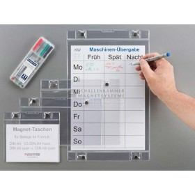 VisuFlex® Magnettasche, transparent